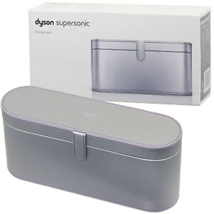 DYSON Supersonic™ Hair Dryer Box Travel Storage Case Magnetic Lid Clasp Silver