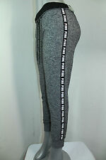 NEW Pink By Victoria's Secret Ultimate Yoga GYM Pants Graphic NWT Gray Small