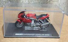 1:24 Skala-Modelle Modell Rot Ducati 1000 DS HF 2003 Motorrad Rad ixo altaya