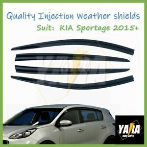 luxury Injection Weather Shields Weathershields for KIA SPORTAGE 2015-2021