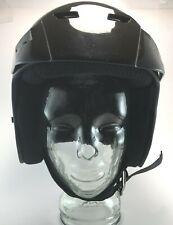 Vintage Fulmer AF-255 Motorcycle Helmet Black With Black Visor Adult Small