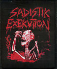 Sadistik Exekution Red patch Revenge Conqueror Archgoat Diocletian Destroyer 666