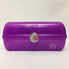 Caboodles On The Go Girl Classic Bright Purple Makeup Case Organizer With Mirror