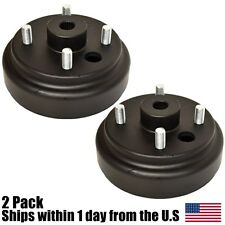 (2) EZGO Golf Cart Wheel Brake Hub Drum Electric 82-Up 2 Cycle 82-93 19186-G1