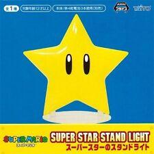 Super Mario Bros Super Star Stand Light Taito Figure Nintendo Japan Game
