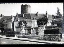 CHATILLON-sur-INDRE (36) COMMERCES & MONUMENT aux MORTS vers 1950