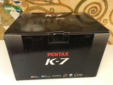 New open box PENTAX digital SLR K-7 (body alone) K7 Camera body with warranty