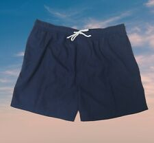 Swim Suit Men's Trunks Beach Shorts Size L George Casual Outfitters 4 Pocket New