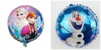 Frozen Elsa Olaf Princess 4 Balloons Cartoon helium party birthday Favour Disney