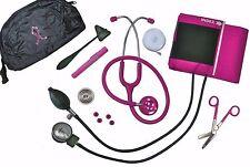 Pink Breast Cancer / Blood Pressure Bling Bag Pink Stethoscope