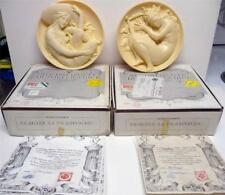 Sergio Benvenuti 2Plates From Muses Collection-Erato&Eute rpe W/Coa& Box Limited