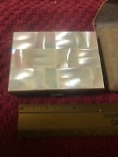 New listing Vintage Agme Swiss Made Musical Powder Compact Gold Tone