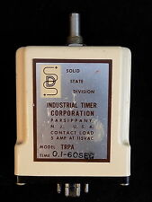 Solid State Timer Model TRPA 0.1 to 60 seconds 5 amps at 115 volts Industrial Co