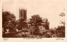 Cheshire - GOOSTRY, St Lukes Church, Real Photo, 1935