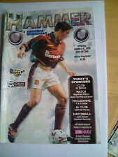 westham united v sheffield wednesday premiership 16/1/1999