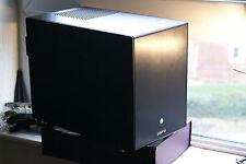Lian Li PC-Q25B Black Aluminium ITX cube Case with Antec power supply PSU