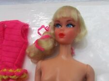 Vintage Barbie Doll Talking Barbie Platinum High Color Rare 1969