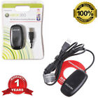 NEW Black PC Wireless Controller Gaming Receiver adapter For MICROSOFT XBOX 360
