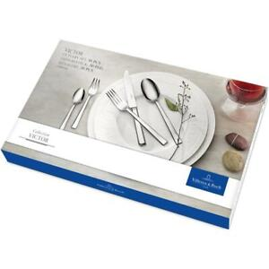 Villeroy & Boch Stainless Steel Victor Cutlery set 30 Pieces For six Settings