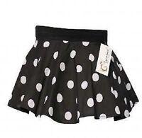 Childrens Girls 1950s  Polka Dot Skirt Rock N Roll Fancy Dress 5-10year