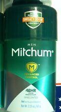 6 x  Mitchum MEN Advanced Control 48hr Unscented Gel Antiperspirant & Deodorant