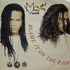 "Milli Vanilli(7"" Vinyl P/S)Blame It On The Rain-COOL 180-UK-VG/Ex"