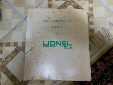 Lionel Trains-MPC Parts Manual 1972-1973