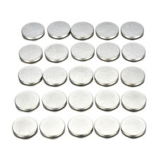25pcs Cr2032 Batteries 3v Coin Cell Button for Watch Toys Remote Calculators