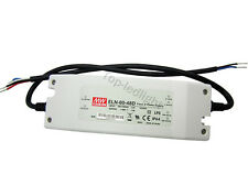 Meanwell ELN-60-48D 60W Dimming Driver Switching Power Supply DC 24V-48V 1.3A