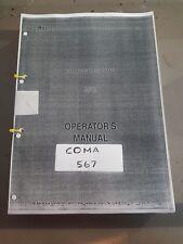 AMADA COMA 567 Manual £100+ VAT
