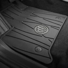 2018 Buick Enclave Genuine GM Front All Weather Floor Mats Black 84162074