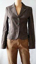 United Colors Of Benetton Authentic 2A48S2063 BEN Brown Women`s Jacket Suit New