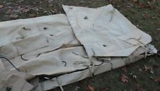 New LMTV M1078, 2 1/2 Ton Truck Cargo Cover, Tan, PN 12420281-015, US Gov Issue
