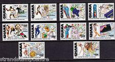Ghana - 1992 Olympics - U/M - SG 1684-93