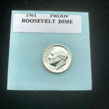 "1961 Proof Roosevelt Gem Bu.Silver Dime. ""With Mint Luster�"
