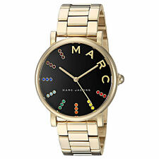 2018 NEW Marc Jacobs Classic Signature Style Women's Watch Gold-Tone 36mm MJ3567