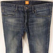 Para Hombre Hugo Boss Orange 24 Ajustado Recto Blue Jeans W32 L34. Style  Slim Straight. ff6b035cc62