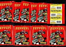 Ferrari Motor Racing Car Panini 10 Unopened Sticker Card Packs 2003 50 Cards