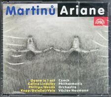 MARTINU ARIANE Celina Lindsley Norman Phillips Dolezal Vaclav Neumann CD ARIADNA