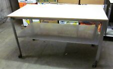 Metall Werkbank Werktisch Arbeitstisch Packtisch Ladentisch 160X80