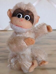 Vintage Schuco Style Elusive Baby Chimp -  CUTE Monkey With Big Googly Eyes!