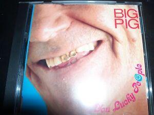 Big Pig You Lucky People Rare Australian Pop CD - Like New