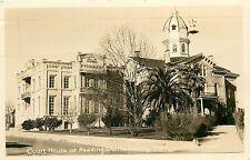 1940s RPPC Shasta County Court House & Hall of Records, Redding CA Eastman B2052