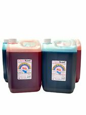 More details for classikool 4 x 5l slush puppy syrup set [2x red strawberry & 2x blue raspberry]