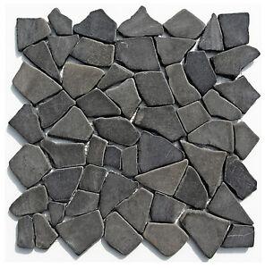1 Mosaik-Fliesen Matte M-001 - Marmor - Naturstein Lager Stein-mosaik Herne NRW