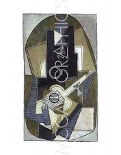 """PICASSO PABLO - L'HOMME A LA GUITARE, 1918 - Offset Lithograph 14"""" x 11"""" (961)"""
