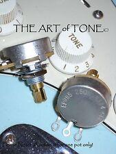 "CTS 250K Pot Short (3/8"" bushing) Split Shaft - Audio Taper - Potentiometer"