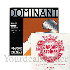 Dominant Violin String Set 4/4  /Jargar Ball E Forte