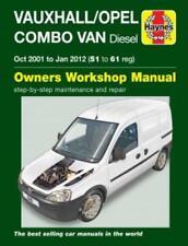 Haynes Workshop Manual Vauxhall/Opel Combo Diesel Van Service & Repair