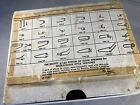 Lot of 44 Vintage Best fit Watch Springs Various Sizes w/ Storage Box W. Germany